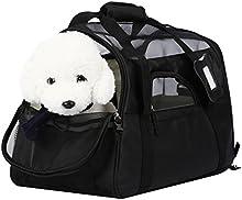 OUTAD Bolsa de Transporte para Mascotas Perros Gatos Transportín Plegable