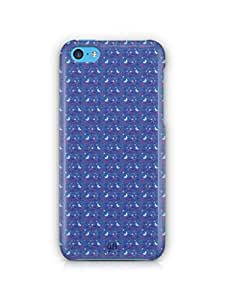 YuBingo Moon and Stars Mobile Case Back Cover for Apple iPhone 5C