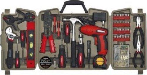 Durabuilt 4.8V 161 Piece Household Tool Set