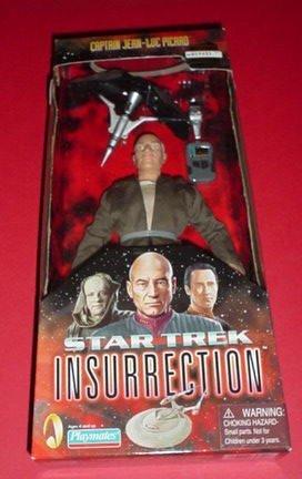 """Star Trek: Insurrection Captain Jean-Luc Picard 9"""" Pose-able Action Figure"""