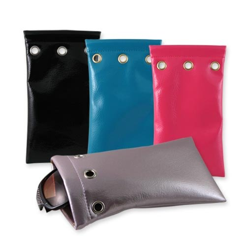 Premium Eyeglasses / Sunglasses Pouch Collection | 100% Money Back Guarantee | Many Colors | Medium & Large | Pack of 2 |