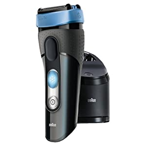 Braun CoolTec CT2cc Electric Shaver with Active Cooling Technology and Cleaning Centre