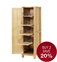 Sonoma Light Kitchen Pull-Out Larder Unit