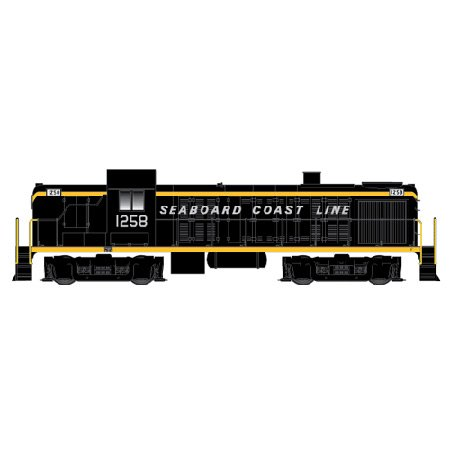 Atlas Seaboard Coast Line #1252RS3 without Decoder HO Scale Locomotive