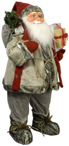 MONOPOL 33186 Weihnachtsmann 'Hans', 80 cm