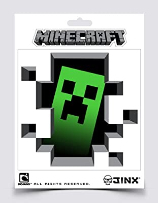 (5x5) Minecraft- Creeper Inside Sticker