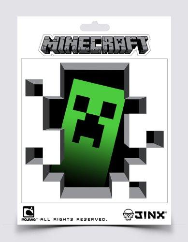 Minecraft クリーパー ステッカー