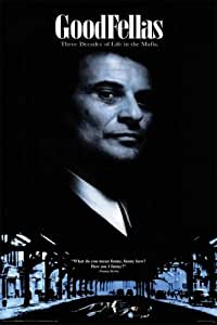 "Goodfellas - Movie Poster (Joe Pesci is Tommy DeVito) (Size: 24"" x 36"")"