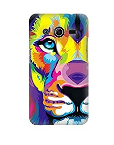 Pick Pattern Back Cover for Samsung Galaxy Core 2 G3558 (MATTE)