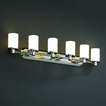 Fusioncollection Rondo 6 Light Bath Bar Vanity Lighting Fixtures