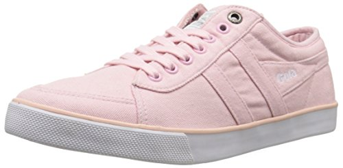 Gola Women's Comet Canvas Fashion Sneaker, Crystal Pink, 7 M US