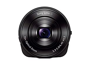 Sony DSC-QX10/B Smartphone Attachable 4.45-44.5mm Lens-Style Camera