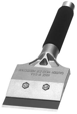 """4"""" Strip & Clean Scraper with 12-Inch Steel Soft Grip Handle -Warner 790 Tool"""