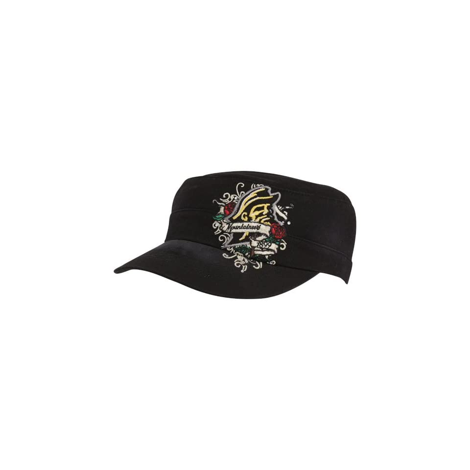 Top Of The World Appalachian State Mountaineers Ladies Black Eve Adjustable Military Style Hat