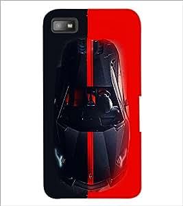 PrintDhaba Car D-4066 Back Case Cover for BLACKBERRY Z10 (Multi-Coloured)
