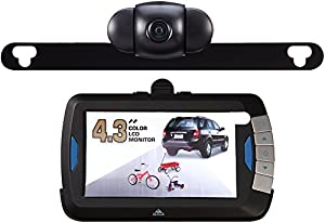 Peak PKC0BU4  Wireless 4.3-Inch Back-up Camera Kit