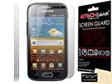 Techgear Clear LCD Screen Protector for Samsung Galaxy Ace 2 i8160 (Pack of 3)