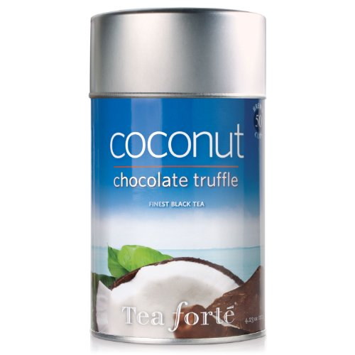 Tea Forte Loose Leaf Tea Canister - Coconut Chocolate Truffle