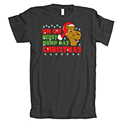 Merry Hump Day Christmas Camel American Apparel T-Shirt