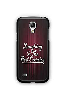 YuBingo Laughing is the Best Exercise Designer Mobile Case Back Cover for Samsung Galaxy S4 Mini