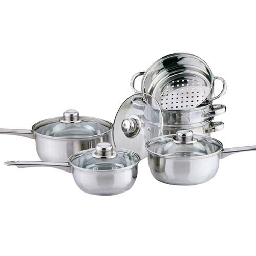 highlands-6pc-cookware-steamer-set-stainless-steel-saucepan-pan-pot-kitchen-cook-sauce