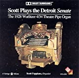 Scott Plays the Detroit Senate - The 1928 Wurlitzer 4/34 Theatre Pipe Organ