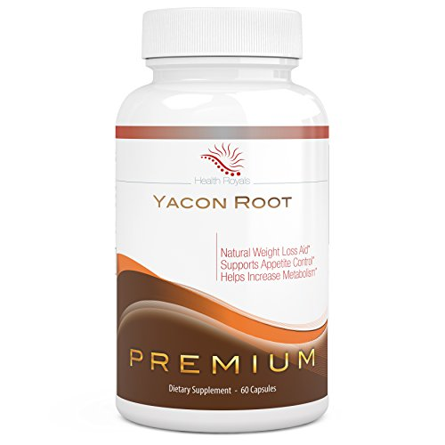 Yacon Root Extract Natural Weight Loss Supplement Lose Belly, Thigh And Butt Fat -1000Mg Capsules -Look Good When The Lights Go Off-Pure Premium Fat Burning Diet Pill For Women And Men. As Seen On Tv And The Peruvian Cleanse Diet. Safe And Effective For Q