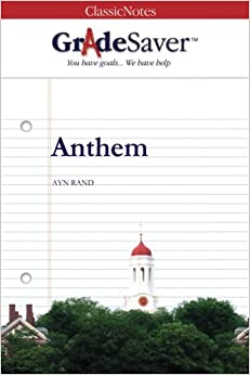 Anthem study guide answers essay