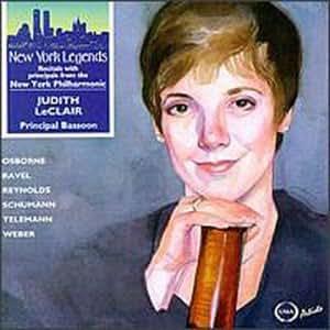 Judith Leclair Principal Bassoon, New York Philharmonic