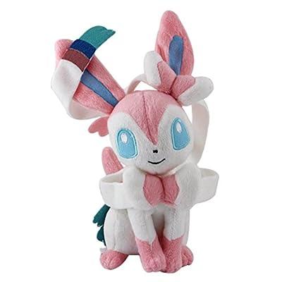 "Masingo Pokemon Eevee Sylveon 8.6"" / 22cm Plush Stuffed Doll Toy from Masingo"