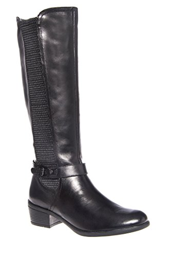 Antwerpen Mid Calf Low Heel Boot