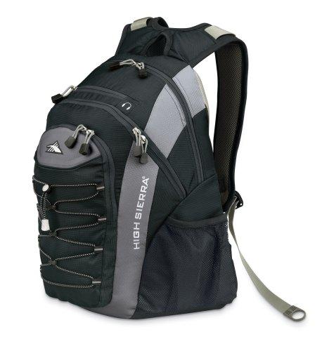 High Sierra Fuel Backpack (Graphite/Ash/Black) front-593652