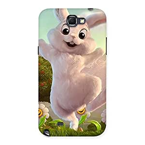 Enticing Bunny Funny Back Case Cover for Galaxy Note 2