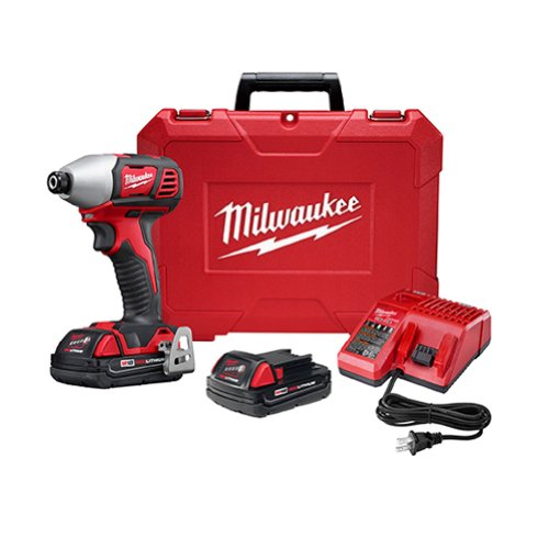Milwaukee Electric Tool - 2657-22Ct - Cordless Impact Driver Kit, 18V, 1/4 In