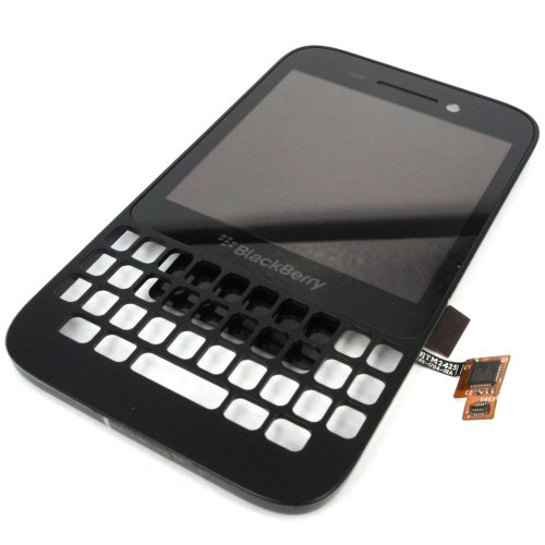 Generic Full Lcd Display Touch Digitizer Glass Compatible For Blackberry Q5 Black