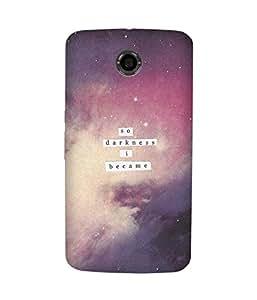 Darkness Motorola Nexus 6 Case