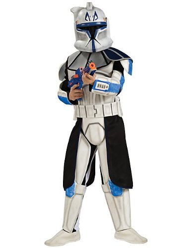 "Deluxe EVA Clone Trooper Leader ""Rex"" Kids Costume"