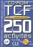 echange, troc Sandrine Billaud, Hélène Relat - Tests de Connaissance du Français TCF 250 activités : CD-ROM