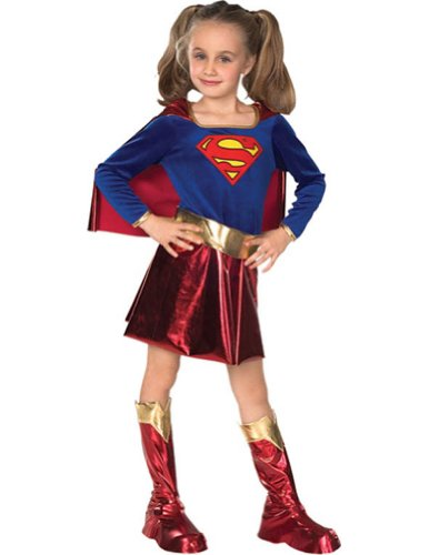 Supergirl Child Lg Kids Girls Costume