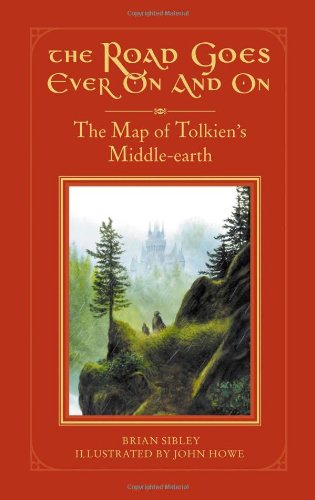 The Road Goes Ever On and On: The Map of Tolkien's Middle-Earth