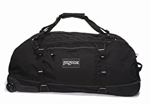 Jansport Wheeled Duffelpack - Black, 76cm by Jansport
