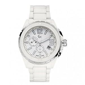 GUESS XXL Phantom White Ceramic Timepiece
