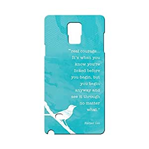 BLUEDIO Designer Printed Back case cover for Samsung Galaxy Note 4 - G0324