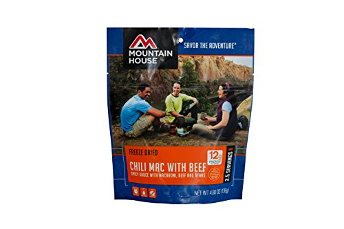 Mountain House Chili Mac with Beef (Freeze Pouch compare prices)
