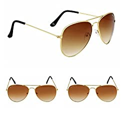 Redix New 3 in 1 TraditionaL Brown Sunglasses For mens