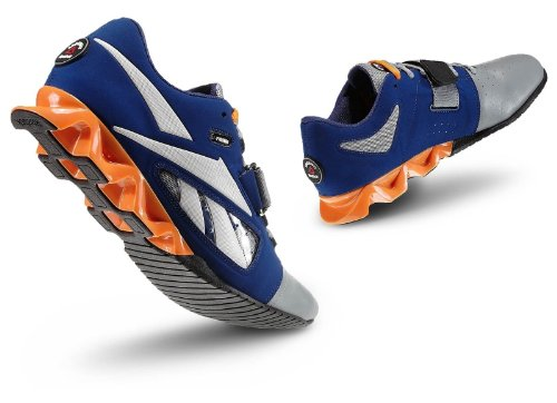 a01be1aa0a08 Reebok Mens R Crossfit Lifter Blue Steel Grey Nach Lowtop Shoes Size ...
