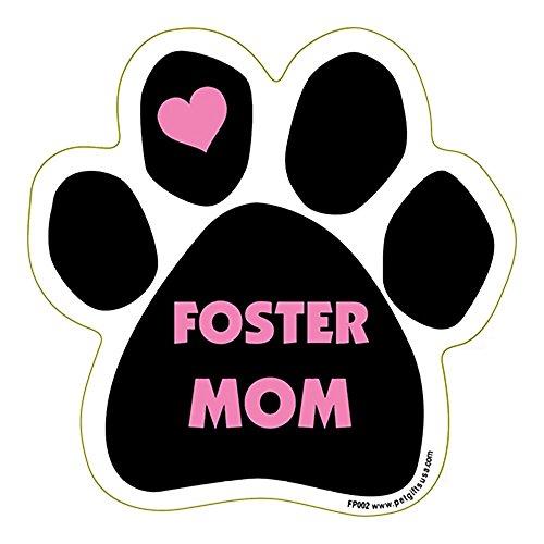 foster-mom-paw-shape-car-truck-refrigerator-magnet