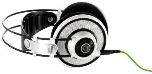AKG Q 701 Quincy Jones Signature Reference-Class Premium Headphones, White