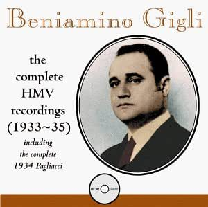 Complete Hmv Recordings 1933