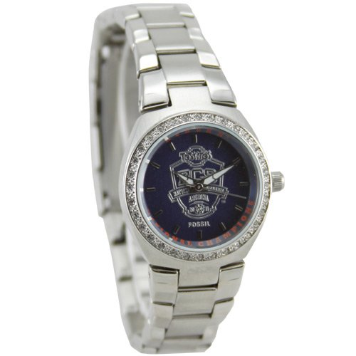 Fossil Auburn Tigers Ladies 2010 BCS National Champions Stainless Steel Watch